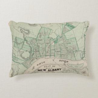 Plan de la ciudad de nueva Albany, Floyd Co, Cojín