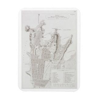 Plan de la ciudad de Sydney, del 'viaje Autour du Iman Flexible