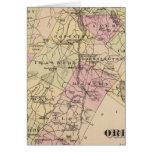 Plan de la compañía de Orleans en Vermont Tarjetón
