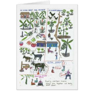 Plan de la granja de Doreen Tarjeta De Felicitación