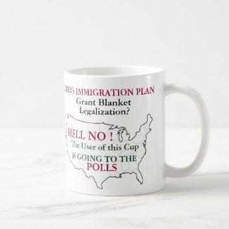 Plan de la inmigración de Barack Hussein Obama Tazas