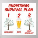 Plan de la supervivencia del navidad poster