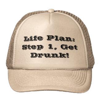 Plan de la vida: ¡El paso 1, se emborracha! Gorra