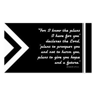 Plan de la zona del evangelio de la salvación tarjetas de visita