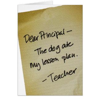 Plan de lección felicitacion