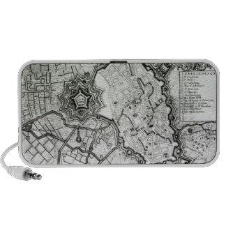 Plan de Lisle, 1736 Laptop Altavoces