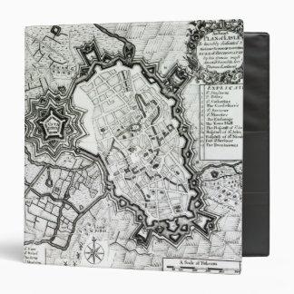 Plan de Lisle, 1736