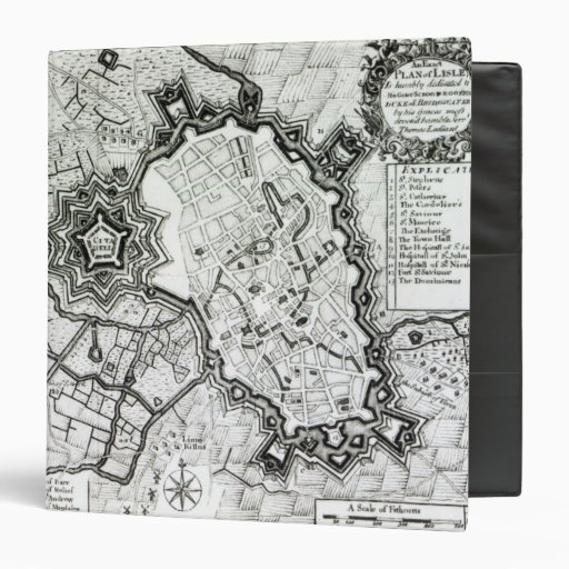 """Plan de Lisle, 1736 Carpeta 1 1/2"""""""