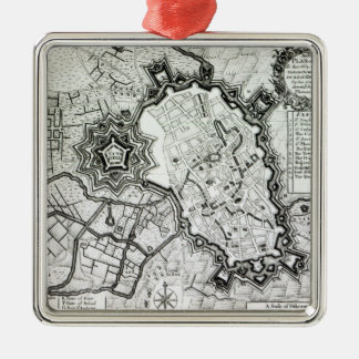 Plan de Lisle, 1736 Adornos