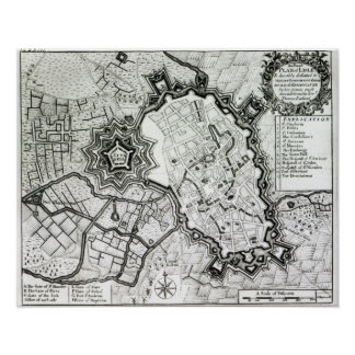 Plan de Lisle, 1736 Impresiones