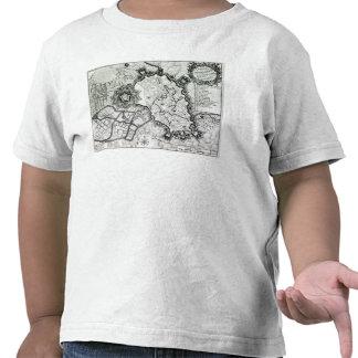 Plan de Lisle, 1736 Camisetas