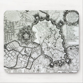 Plan de Lisle, 1736 Tapete De Raton