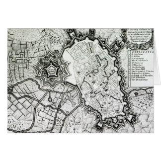 Plan de Lisle, 1736 Felicitacion