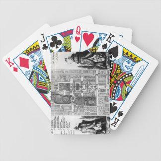 Plan de los jardines del emperador de Pekín, de Baraja Cartas De Poker