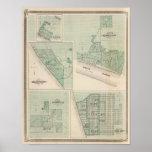 Plan de Newburgh, Warrick Co con Boonville Póster