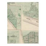 Plan de Newburgh, Warrick Co con Boonville Tarjetas Postales