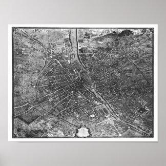 Plan de París, conocido como el 'Plan de Turgot' Impresiones