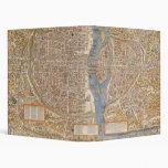 Plan de París por Truschet y Hoyau circa 1550