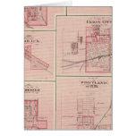 Plan de Portland, Jay Co, Ind con Camden Tarjeta De Felicitación
