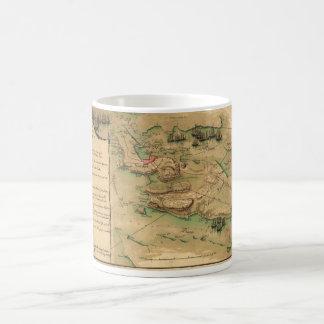 Plan de Rhode Island Map (1778) Coffee Mug