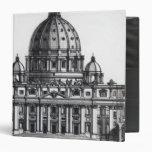 Plan de San Pedro, Roma, grabada cerca