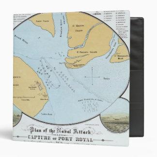 Plan del ataque y de la captura navales del puerto