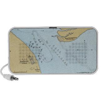 Plan del ataque y de la captura navales del puerto iPhone altavoz