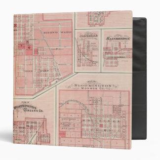 Plan del castillo verde, Putnam Co con Bloomington