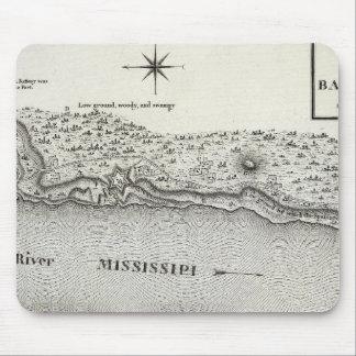 Plan del fuerte Baton Rouge Tapetes De Ratones