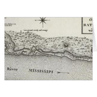 Plan del fuerte Baton Rouge Tarjeta De Felicitación