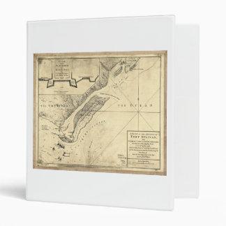 """Plan del mapa de Sulivan del fuerte del ataque (28 Carpeta 1"""""""