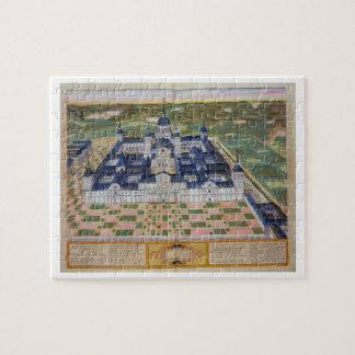 Plan del monasterio del EL Escorial, de 'Civita Puzzle Con Fotos
