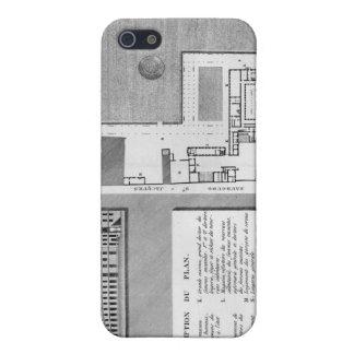 Plan del Port-Royal de Maternite iPhone 5 Carcasas