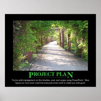 Plan del proyecto - apenas hágale el PowerPoint de Póster