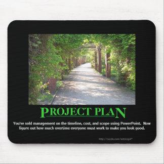 Plan del proyecto - apenas hágale el PowerPoint de Alfombrillas De Raton