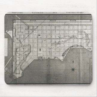 Plan Directeur de la Ville des Cayes, 1789 Mouse Pad
