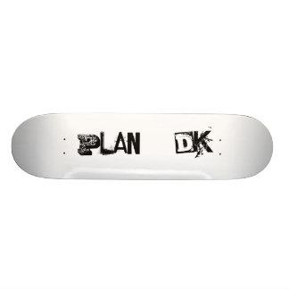 Plan, DK Custom Skateboard