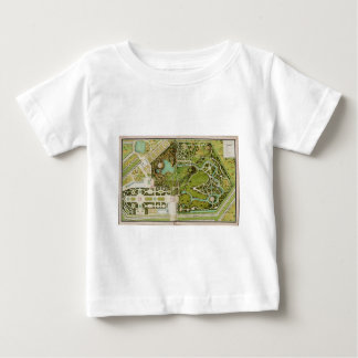 Plan du jardin et chateau de la Reine Baby T-Shirt