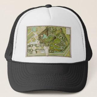 Plan du jardin et chateau de la Reine Trucker Hat