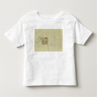 Plan for the Dresden Royal Theatre, c.1838 T Shirt