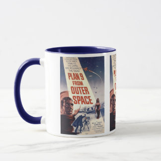 """Plan nine from outer space"""" mug"""