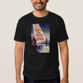 """Plan nine from outer space"""" tee shirts"""