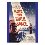 """Plan nueve del espacio exterior """" postales"""