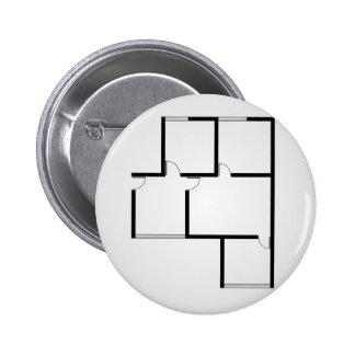 Plan of a small house button