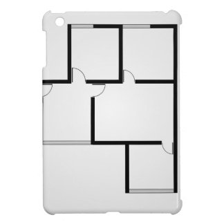 Plan of a small house iPad mini case