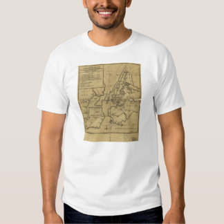 Plan of Attack on Long Island August 27th 1776 T-shirt