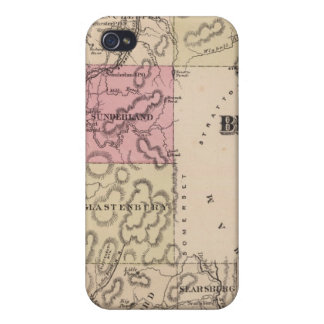 Plan of Bennington County, Vermont iPhone 4/4S Cover