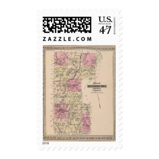 Plan of Bennington County, Vermont Postage