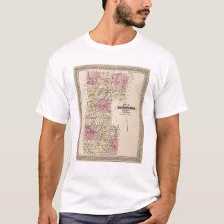 Plan of Bennington County, Vermont T-Shirt