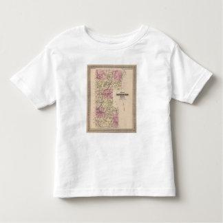 Plan of Bennington County, Vermont Toddler T-shirt